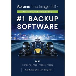 Acronis Cloud Storage Subscription License 1 TB, 1 Year